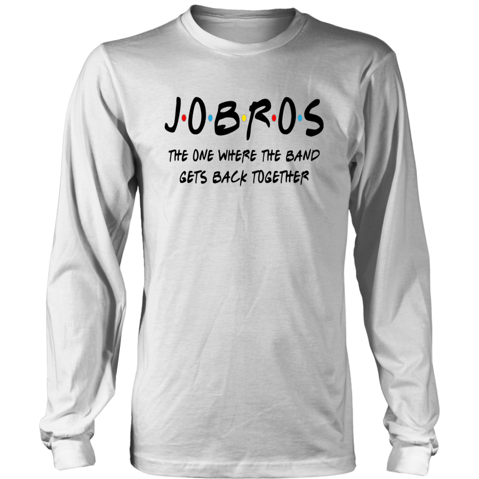 J.O.B.R.O.S The One Where The Band Gets Back Together T-Shirt