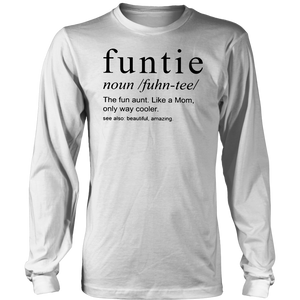 FUNTIE DEFINITION SHIRT Funtie - Perfect gift for aunties famt