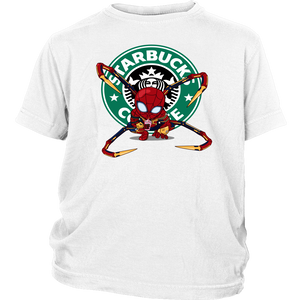 Spider-man Starbucks Coffee Shirt
