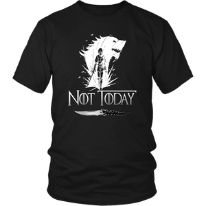 Not Today Shirt - Arya Stark Not Today - Arya Stark - Game Of Thrones