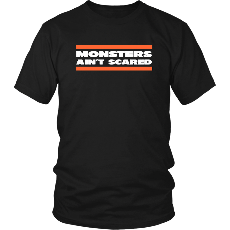 MONSTERS AIN'T SCARED SHIRT CHICAGO BEARSCAGO BEARS