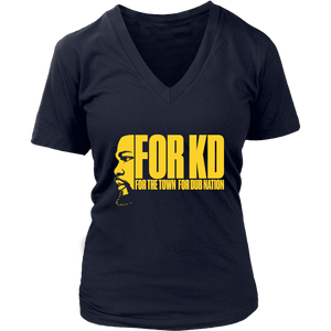 FOR KD - FOR THE TOWN DUB NATION SHIRT Kevin Durant - Golden State Warrios