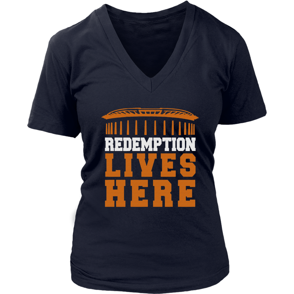 REDEMPTION LIVES HERE SHIRT Virginia Cavaliers - NATIONAL CHAMPIONS - The REDEMPTION TOUR