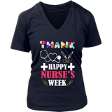 Thank Happy Nurse's Week 2019 Nurse Gift T-Shirt