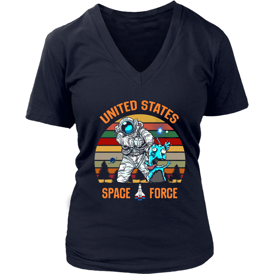 United States Space Force Alien T-shirt