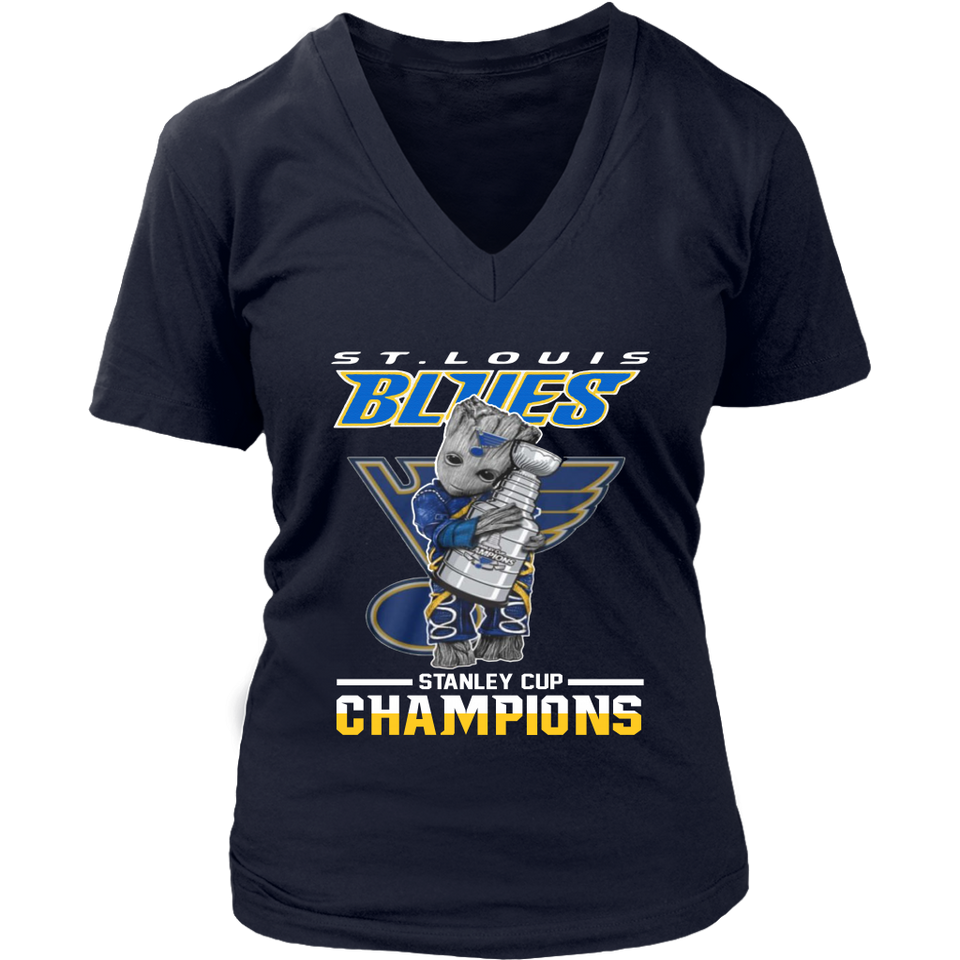 St Louis Blues 2019 Stanley Cup Champions - Groot Shirt