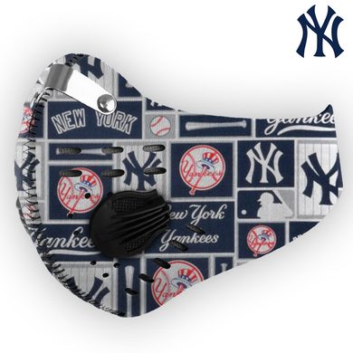 New York Yankees Carbon PM 2,5 Face Mask