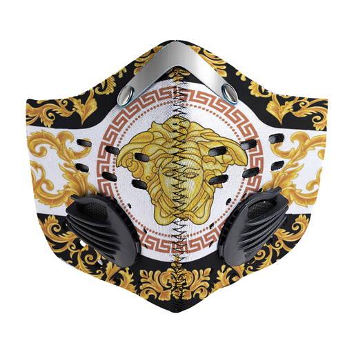 Modern Versace Carbon PM 2,5 Face Mask