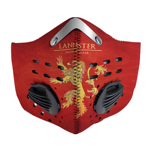 House Lannister Carbon PM 2,5 Face Mask