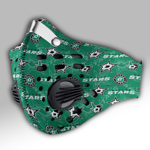 Dallas Stars Carbon PM 2,5 Face Mask