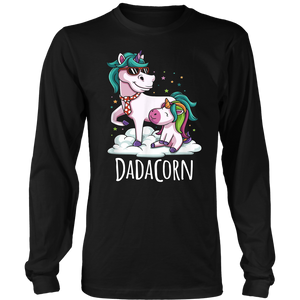 Dadacorn Unicorn Dad Fathers Day Gift T-Shirt