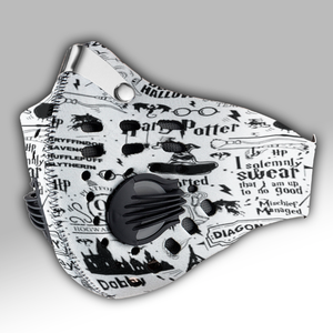 Harry Potter Carbon PM 2,5 Face Mask