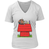 snoop dogg snoopy t shirt