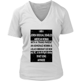 I AM A JEWISH BISEXUAL DISABLED AMERICAN WOMAN SHIRT