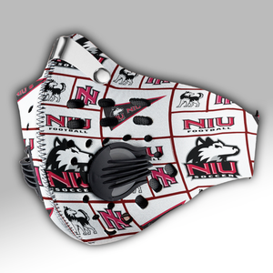 Northern Illinois Huskies Carbon PM 2,5 Face Mask