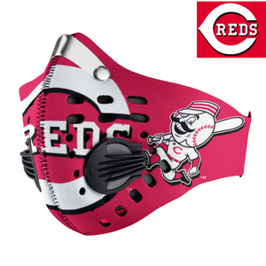 Cincinnati Reds Carbon PM 2,5 Face Mask
