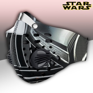 Darth Vader Mask Carbon PM 2,5 Face Mask