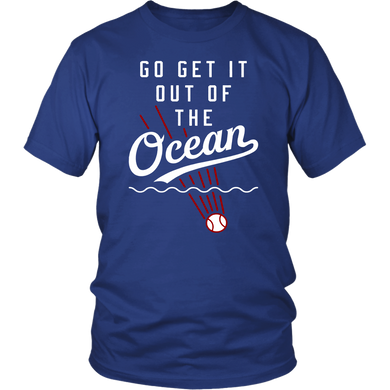 GO GET IT TO THE OCEAN SHIRT Max Muncy - Los Angeles Dodgers