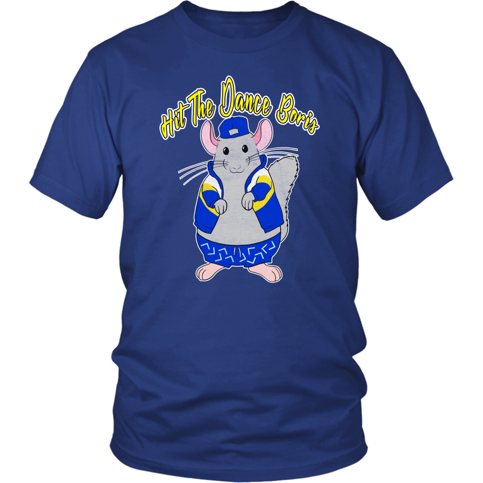 Hit The Dance Boris Shirt My Rat Is Dancing To The Stanley Cup - St. Louis Blues