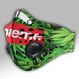 Supreme Weed Carbon PM 2,5 Face Mask