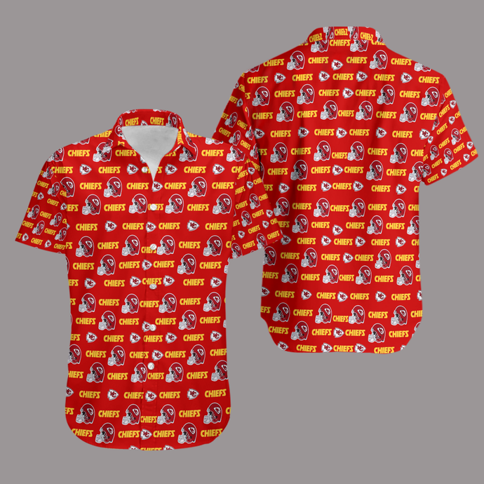 Kansas City Chiefs AOP Hawaiian Shirt