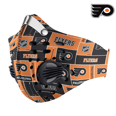 Philadelphia Flyers Carbon PM 2,5 Face Mask