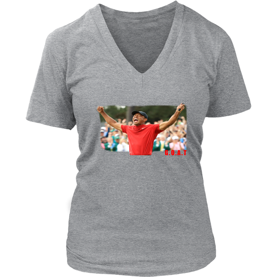 GOAT CHAMPION SHIRT Tiger Woods won his first major golf championship since 2008 on Sunday