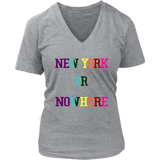 NEW YORK OR NOWHERE Shirt Support LGBT - New York Knicks