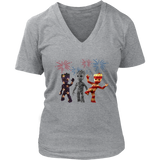 Three Groot American Flag Shirt Happy July 4