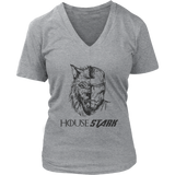 Direwolf Iron Man Mash Up - Game Of Thrones Tony Stark Avengers House Stark Jon Snow Hodor Lannister Targaryen T Shirt
