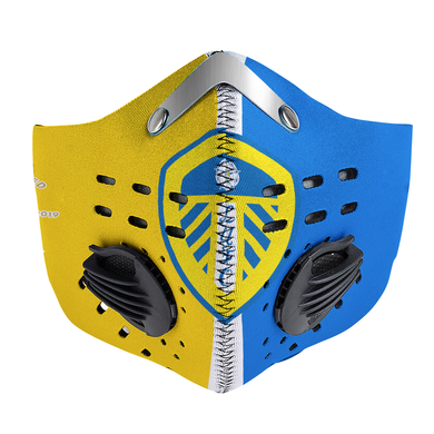 Leeds United Carbon PM 2,5 Face Mask