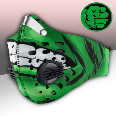 Hulk Mask Carbon PM 2,5 Face Mask