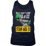 Storm Area 51 They Can't Stop All of Us Running Alien Shirt