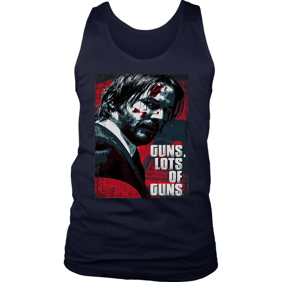 GUNS - LOTS OF GUNS SHIRT JOHN WICK 3 - Keanu Reeves