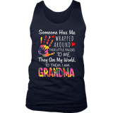Someone Has Me Wrapped Around Their Little Fingers To Me - They Are World - To Them - I Am Grandma Shirt