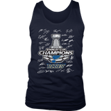 St Louis Blues 2019 Stanley Cup Champions - Team Signature Shirt