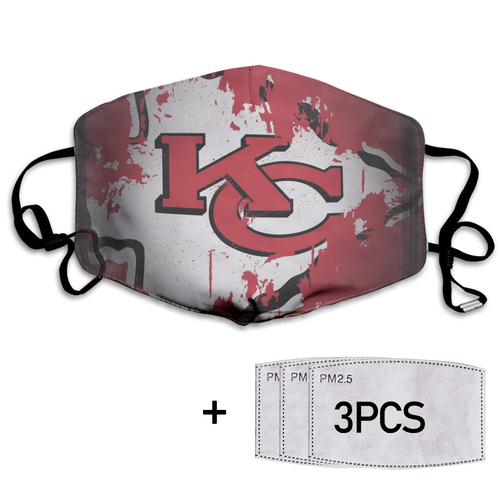 Kansas City Chiefs Full printed Face Mask