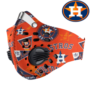 Houston Astros Carbon PM 2,5 Face Mask