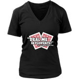 Deal Me In Florence Nurses Don't Play Cards Tee Nurse T shirt
