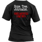 Rope Tree Journalist Some Assembly Required T-Shirt