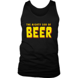 THE MIGHTY GOD OF BEER SHIRT FUNNY THOR