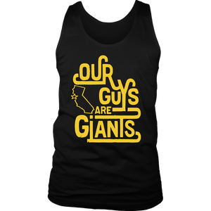 OUR GUYS ARE FUCKING GIANTS SHIRT Steve Kerr - Golden State Warriors