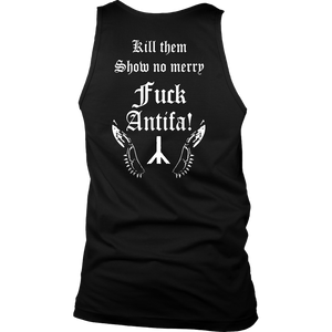 Behemoth Frontman Black Metal Against Antifa Shirt