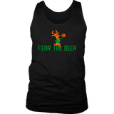 Milwaukee Fear The Deer Bucks T-Shirt Fear The Deer Gear Basketball Shirt