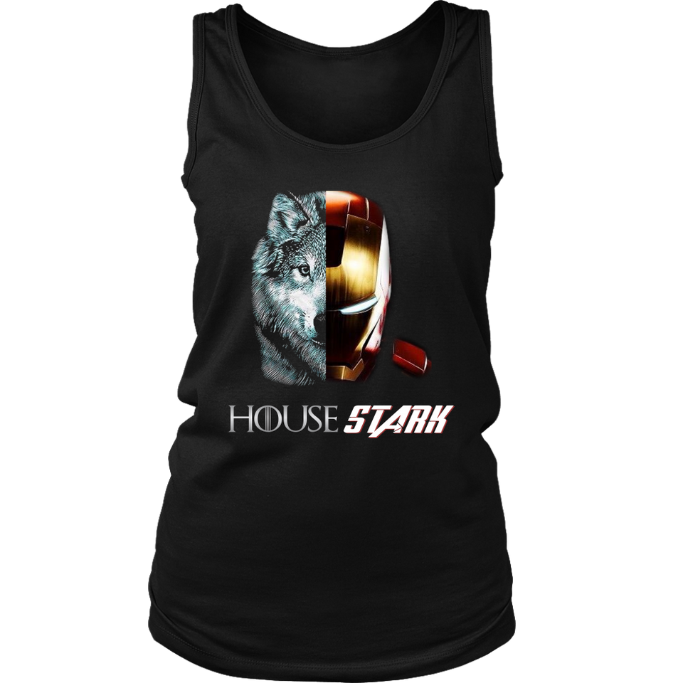 HOUSE STARK SHIRT FUNNY HOUSE STARK - IRON MAN - GAME OF THRONES - AVENGERS ENDGAME