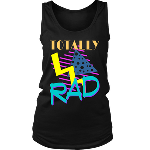 Totally Rad 1980s Vintage Eighties Costume Party t-shirt