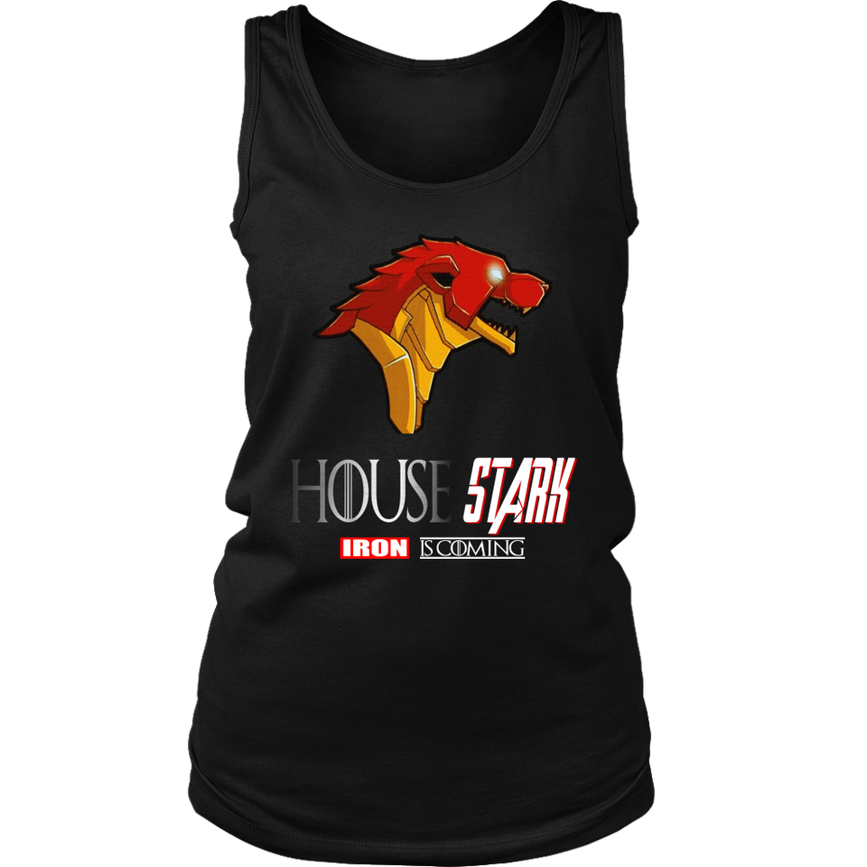 HOUSE STARK - IRON IS COMING SHIRT FUNNY HOUSE STARK - IRON MAN - GAME OF THRONES - AVENGERS ENDGAME