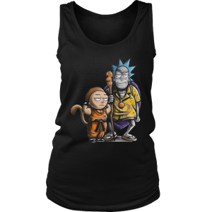 Rick and Morty Dragon Ball Z shirt