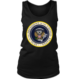 Fake Presidential Seal Shirt 45 ES UN TITERE - Anti Trump