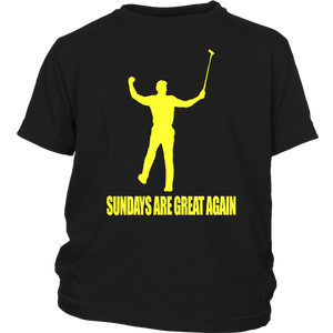 SUNDAYS ARE GREAT AGAIN SHIRT Tiger Woods won his first major golf championship since 2008 on Sunday